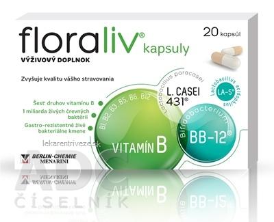 Floraliv kapsuly 1x20 ks