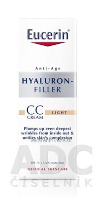 Eucerin HYALURON-FILLER CC krém svetlý light 1x50 ml
