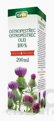 VIRDE OSTROPESTREC 100% OLEJ 1x200 ml