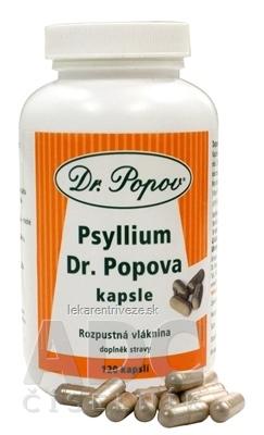 DR. POPOV PSYLLIUM ZN. PSYLLICOL cps 1x120 ks