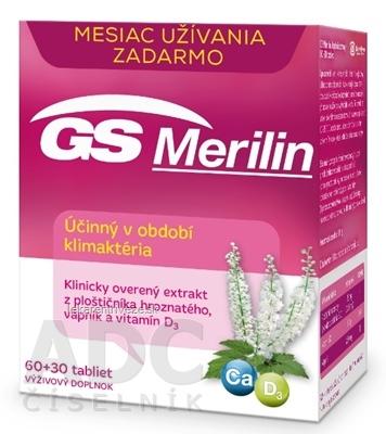 GS Merilin tbl 60+30 zdarma 2017 (90 ks)