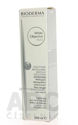 BIODERMA White OBJECTIVE H2O pleťová voda, pigmentové škvrny 1x200 ml