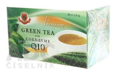 HERBEX Premium GREEN TEA S Q10 zelený čaj 20x1,5 g (30 g)