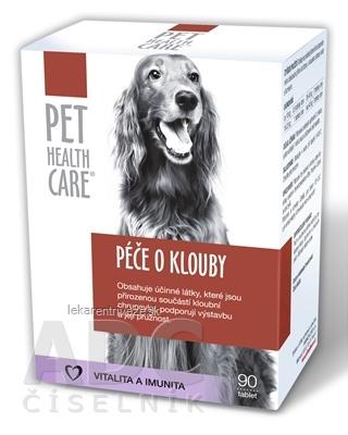 PET HEALTH CARE Starostlivosť o kĺby tbl 1x90 ks