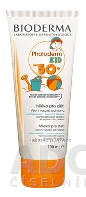 BIODERMA PHOTODERM KID SPF50+ mlieko na opaľovanie 1x100 ml