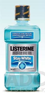 LISTERINE STAY WHITE ústna voda 1x500 ml