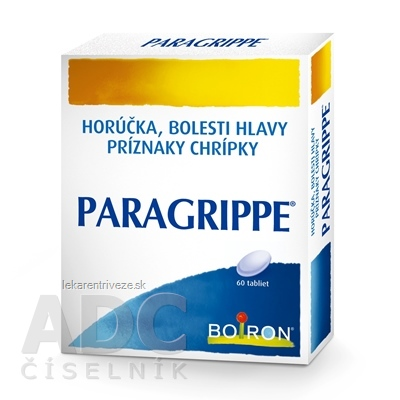 PARAGRIPPE tbl (PVC/Al) 1x60 ks