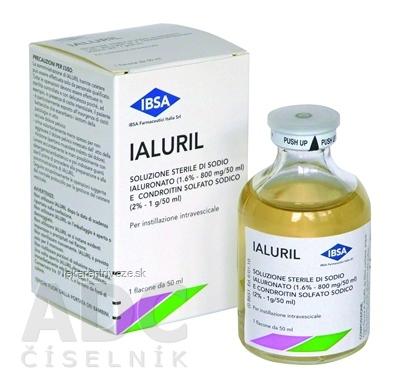 IALURIL instilácia urologická 1x50 ml