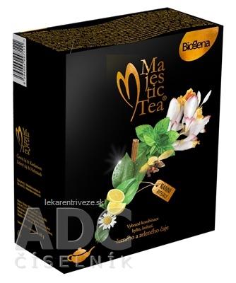 Biogena Majestic Tea Duopack Čierny čaj & Kardamóm + Zelený čaj & Rumanček, 40x1,5 g, 1x1 set