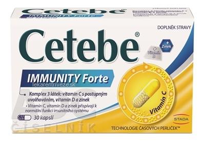 Cetebe Immunity Forte cps 1x30 ks