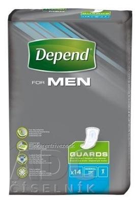 DEPEND FOR MEN inkontinenčné vložky pre mužov 1x14 ks