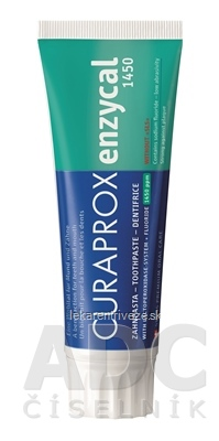 CURAPROX Enzycal 1450 zubná pasta 1x75 ml