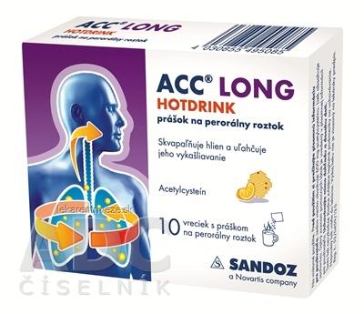 ACC LONG HOTDRINK plo por 600 mg 1x10 vrecúšok