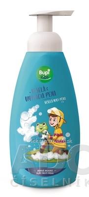 Bupi KIDS Veselá umývacia pena jemná modrá 1x500 ml