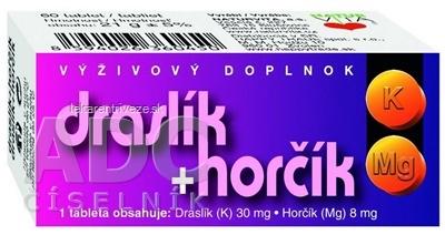 NATURVITA DRASLÍK + HORČÍK tbl 1x60 ks