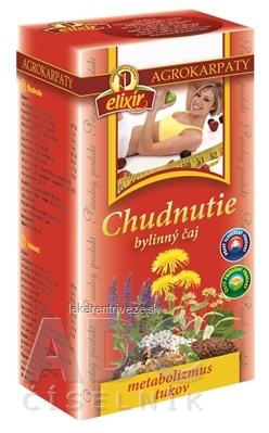 AGROKARPATY CHUDNUTIE bylinný čaj, čistý prírodný produkt, 20x2 g (40 g)