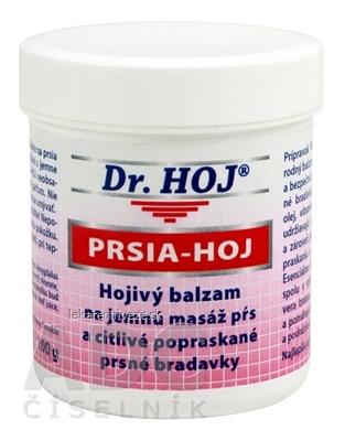 DR.HOJ PRSIA-HOJ hojivý balzam na jemnú masáž pŕs a citlivé popraskané prsné bradavky 1x100 g