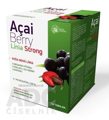 Acai Berry Línia Strong cps 1x180 ks