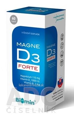 Biomin MAGNE D3 FORTE cps 1x60 ks