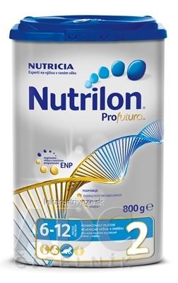 Nutrilon 2 Profutura následná mliečna dojčenská výživa v prášku (6-12 mesiacov) 1x800 g