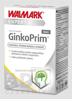 WALMARK GinkoPrim MAX (inov. obal 2019) tbl 1x60 ks