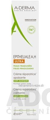 A-DERMA EPITHELIALE A.H ULTRA CREME ultra-obnovujúci krém, jazvy a strie 1x40 ml