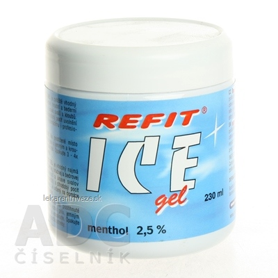 REFIT ICE GEL MENTHOL 1x230 ml