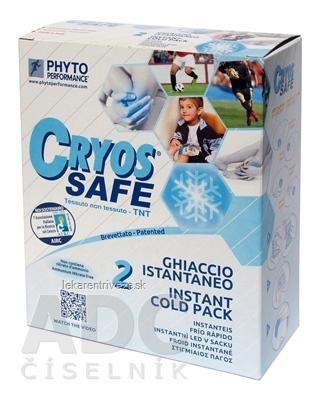 CRYOS SAFE instantný chladiaci ľad vo vrecku 1x2 ks