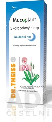 Mucoplant SIRUP NA DOBRÚ NOC skorocelový (320 g=250 ml) 1x1 ks