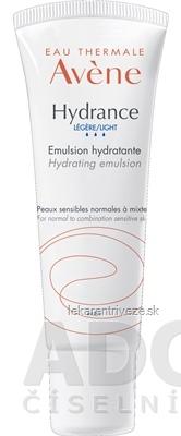 AVENE HYDRANCE LÉGÈRE (EMULSION HYDRATANTE) hydratačná emulzia 1x40 ml