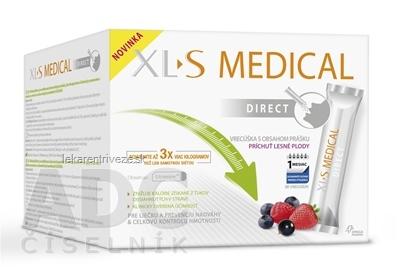 XL S MEDICAL DIRECT vrecúška s obsahom prášku 1x90 ks