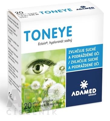 TONEYE očné kvapky, ampulky 20x0,35 ml (7 ml)