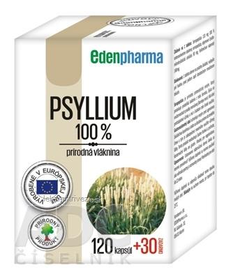 EDENPharma PSYLLIUM cps 120+30 zadarmo (150 ks)