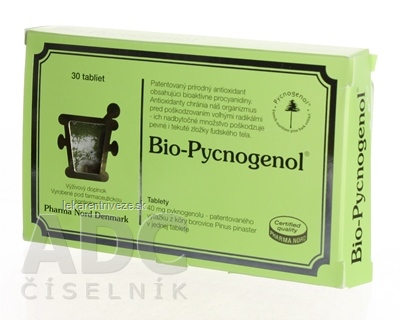 Bio-PYCNOGENOL tbl 1x30 ks