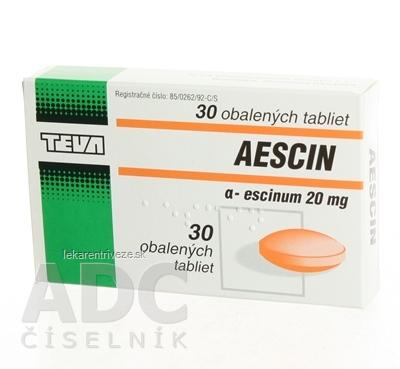 AESCIN tbl obd 20 mg 1x30 ks
