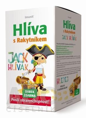 Imunit HLIVA s Rakytníkom pre deti JACK HLÍVÁK tbl 30 ks + Darček zadarmo, 1x1 set