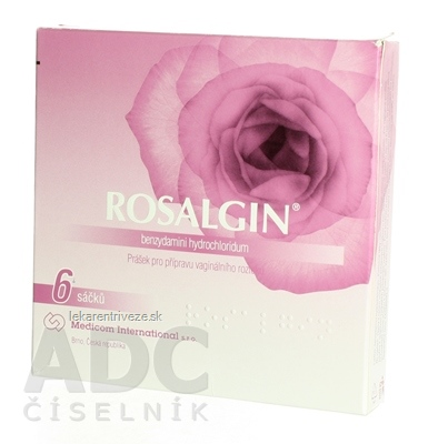 ROSALGIN gro vag 500 mg (vrecúška) 1x6 ks