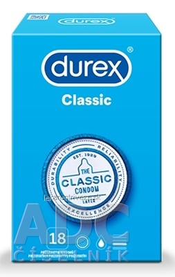 DUREX Classic kondóm 1x18 ks