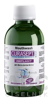 CURASEPT ADS IMPLANT ústna voda 1x200 ml