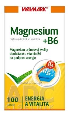 WALMARK MAGNESIUM B6 tbl (so sladidlom) 1x100 ks