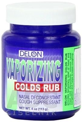 DELON VAPORIZING COLDS RUB balzam 1x113 g