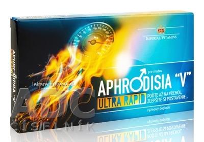 APHRODISIA V Ultra Rapid pre mužov cps (inov.2019) 1x10 ks