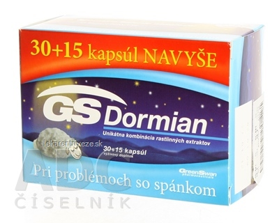 GS Dormian cps 30+15 navyše (45 ks)