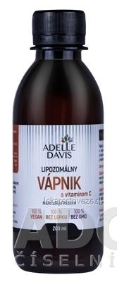 ADELLE DAVIS Lipozomálny VÁPNIK s vitamínom C 1x200 ml
