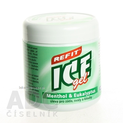 REFIT ICE GEL MENTOL EUKALYPTUS 1x230 ml