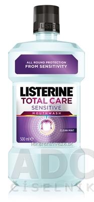 LISTERINE TOTAL CARE Sensitive ústna voda 1x500 ml