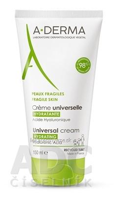 A-DERMA CRÉME UNIVERSELLE HYDRATANTE hydratačný krém pre krehkú kožu 1x150 ml