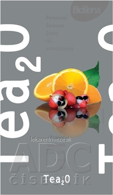 Biogena Tea2O Pomaranč & Guarana zelený čaj 20x1,6 g (32 g)