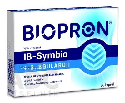 BIOPRON IB-Symbio + S.Boulardii cps 1x30 ks