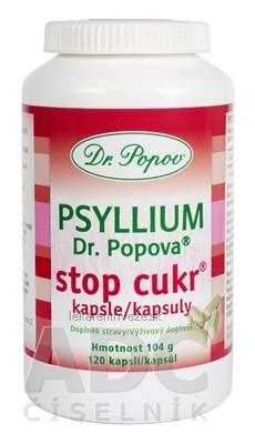 DR. POPOV PSYLLIUM STOP CUKR cps 1x120 ks